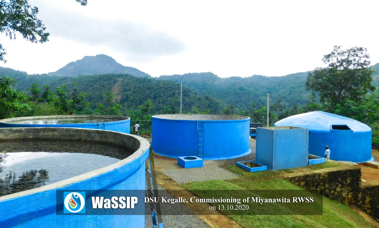 Commissioning of Miyanawita Rural Water Supply scheme in Kegalle District
